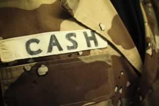 l johnny cashs desert storm fatigues