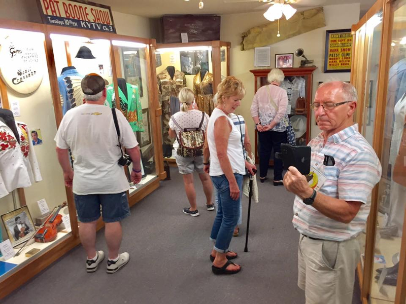 visitors at the heart of texas country music museum