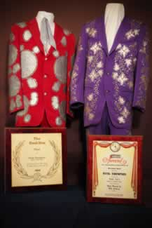 y hank thompson nudie suits awards and other memorabilia 4
