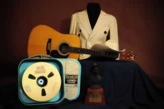 z texas troubadour ernest tubbs nathan turk suit american original bust award commemorative martin guitar and reel from the ernest tubb television show 3